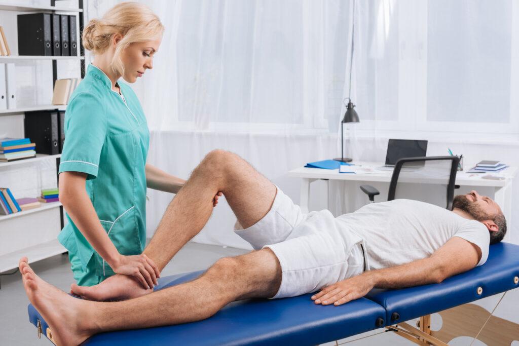 Rehabilitacja kończyn dolnych